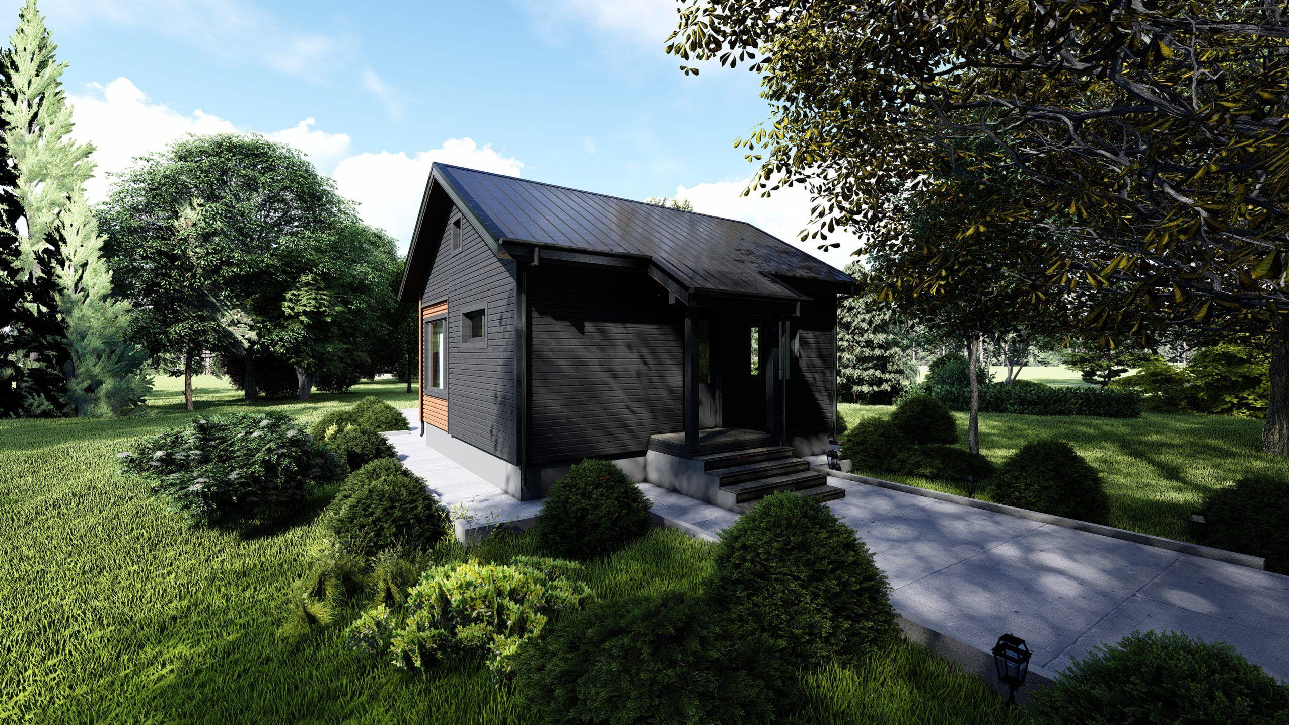 Одноэтажный дом каппакодия